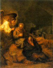 Joseph's Dream by Rembrandt