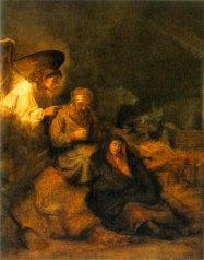 Joseph's Dream by Rembrandt