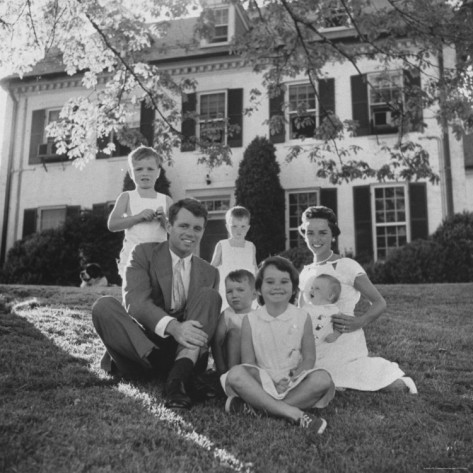 Robert Kennedy, fighting into positive territory, letter to daughter