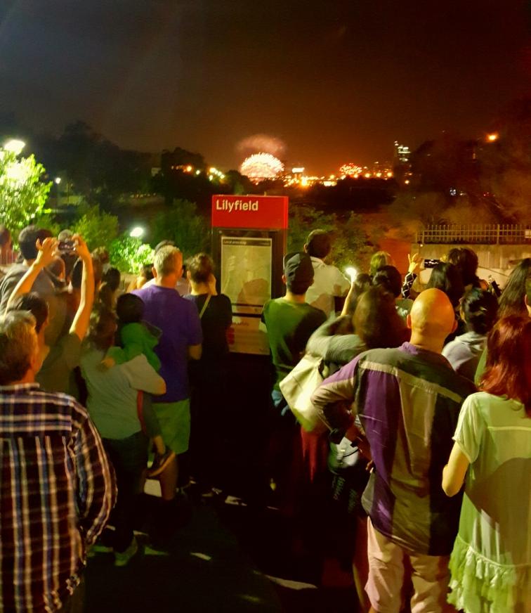 Sydney New Year's Eve fireworks 2016, Lilyfield